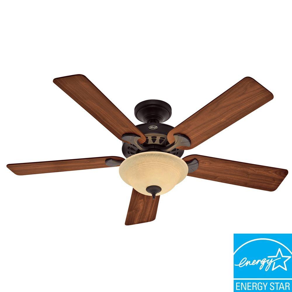 Hunter Sonora 52 in. New Bronze Ceiling Fan-DISCONTINUED