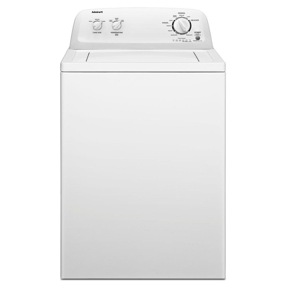 Admiral 3.4 cu. ft. Top Load Washer in White