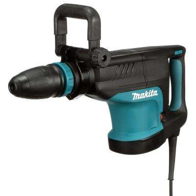 14 Amp 1-3/4 in. Corded Variable Speed 20 lb. Demolition Hammer w/ Soft Start, Side Handle, Bull Point and Hard Case