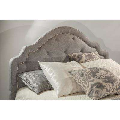 Belize Light Gray King Headboard