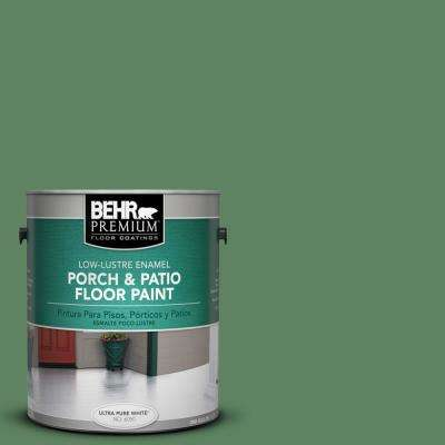 1 gal. #S400-6 Tuscan Herbs Low-Lustre Porch and Patio Floor Paint
