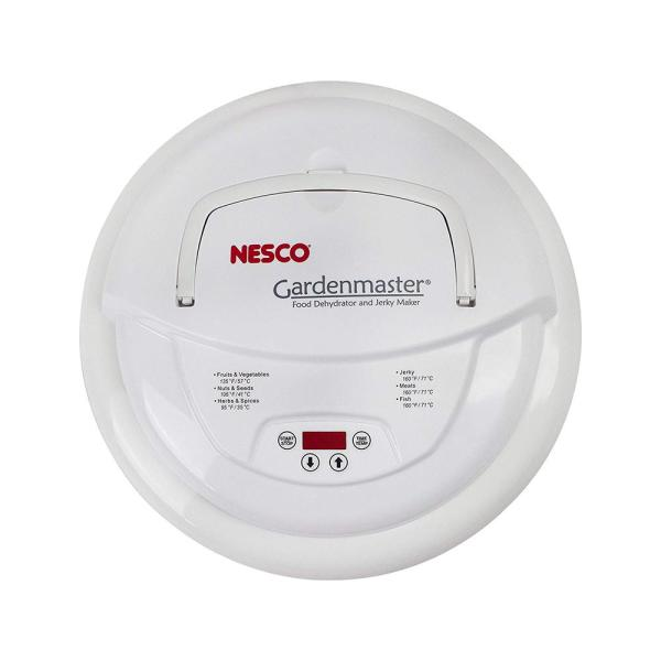 Nesco - Gardenmaster 4-Tray Expandable White Food Dehydrator with Temperature Control