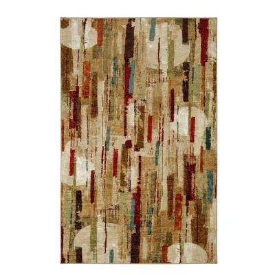 Facets Multi 5 ft. x 8 ft. Area Rug