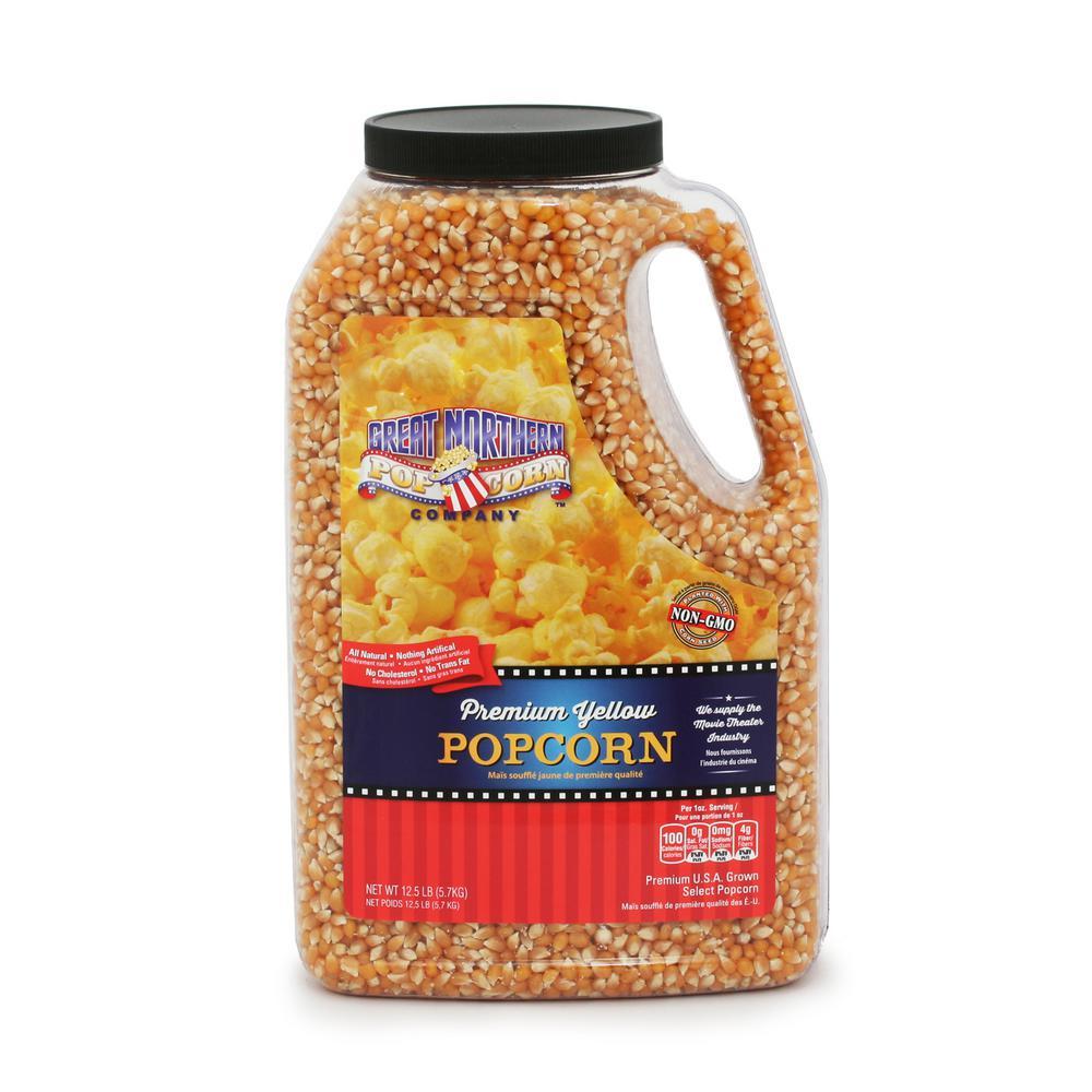 192 oz. Premium Yellow Gourmet Popcorn Jug