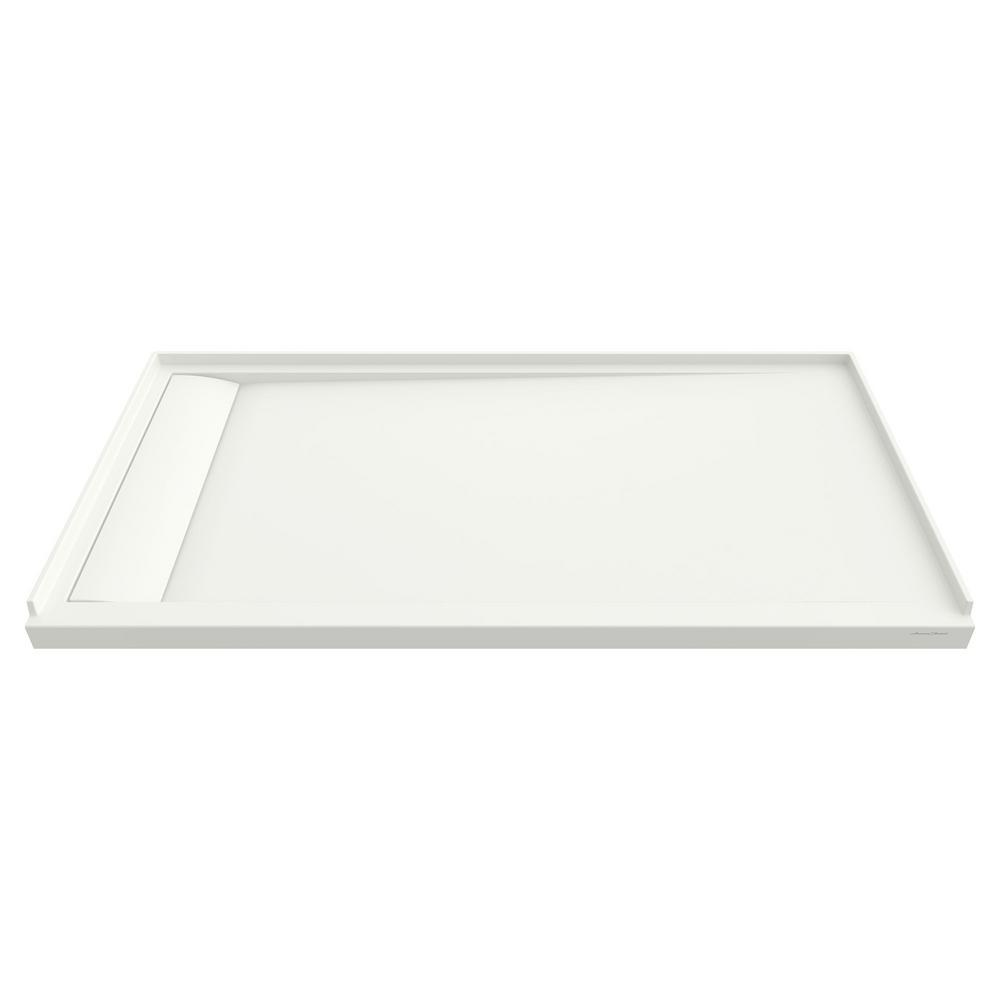 American Standard Townsend 60 in. x 32 in. Single Threshold Shower Base with Left Drain in White