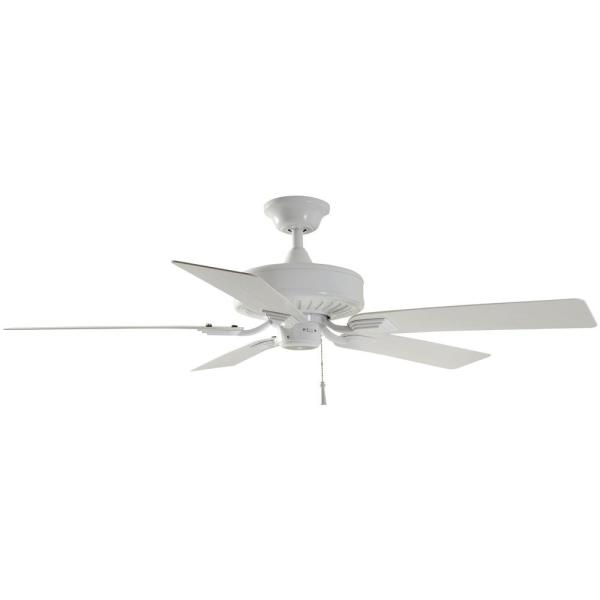 White Ceiling Fan Replacement Parts Barrow Island 52 in