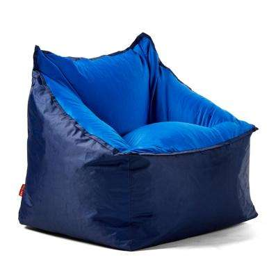 Slalom Chair Navy/Blue SmartMax and Spandex Bean Bag