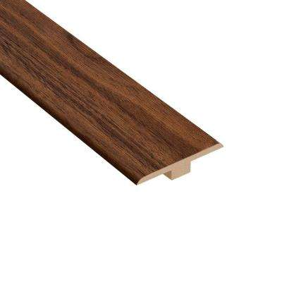 Coronado Walnut 1/4 in. Thick x 1-7/16 in. Wide x 94 in. Length Laminate T-Molding