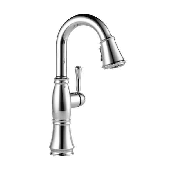 Cassidy Single-Handle Bar Faucet in Lumicoat Chrome
