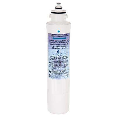 VRFQ-RO Reverse Osmosis Replacement Reverse Osmosis Water Filter Membrane(Fits VRO-3Q, VRO-4Q, and VRO-5Q)