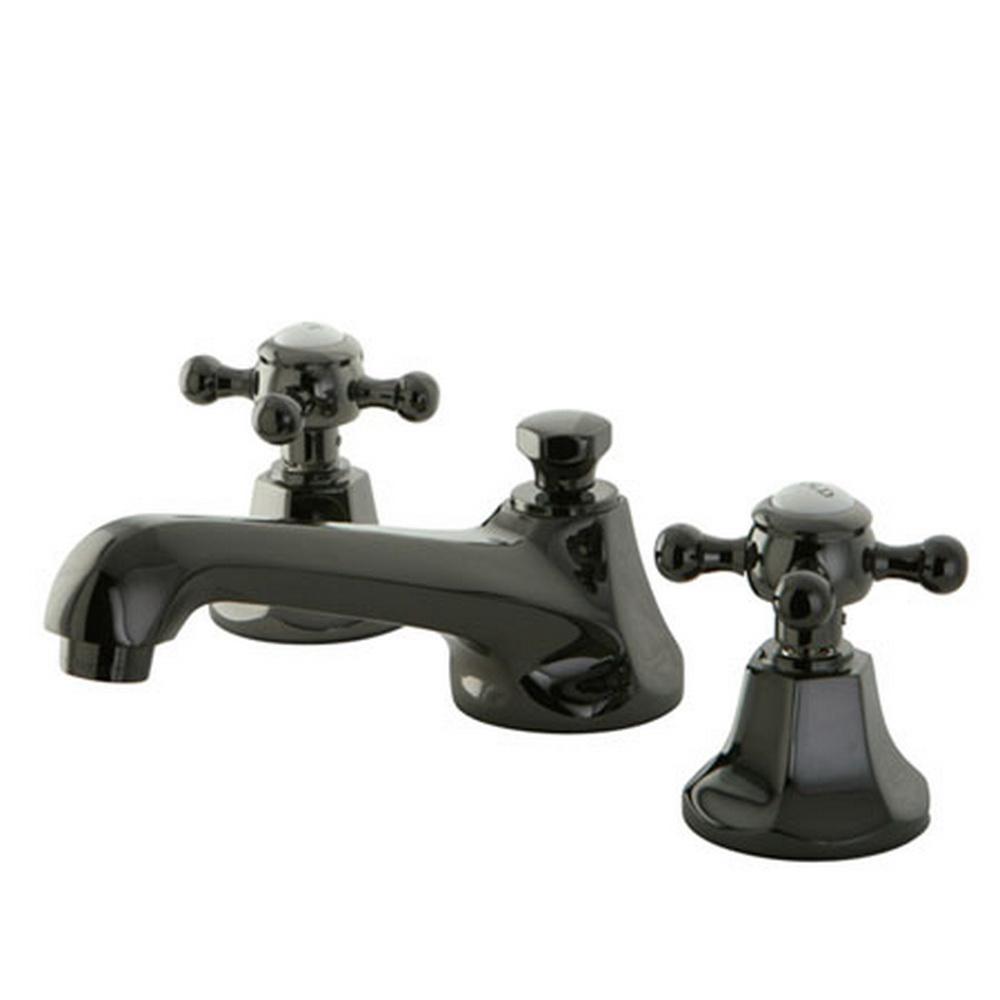 Widespread 2 Handle Cross Handles Bathroom Faucet In
