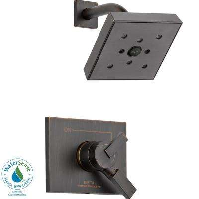 Vero 1-Handle H2Okinetic Shower Only Faucet Trim Kit in Venetian Bronze (Valve Not Included)