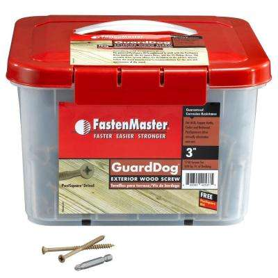 Guard Dog 3 in. Wood Screw (1750 per Pack)