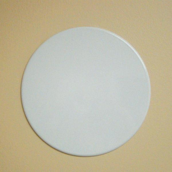 Garvin Round 8 In White Recessed Can Light With Blank Up Cover Cbc 800 The Home Depot