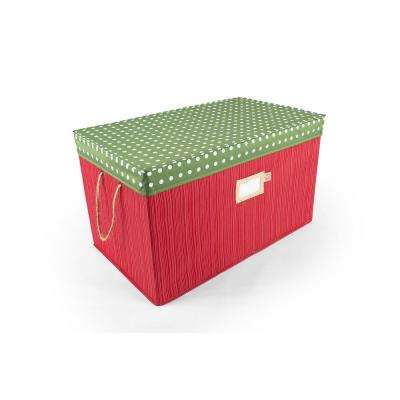 Multi-Use Storage Box Decorative Polka Dot
