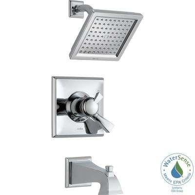 Dryden 1-Handle Tub and Shower Faucet Trim Kit in Chrome (Valve Not Included)