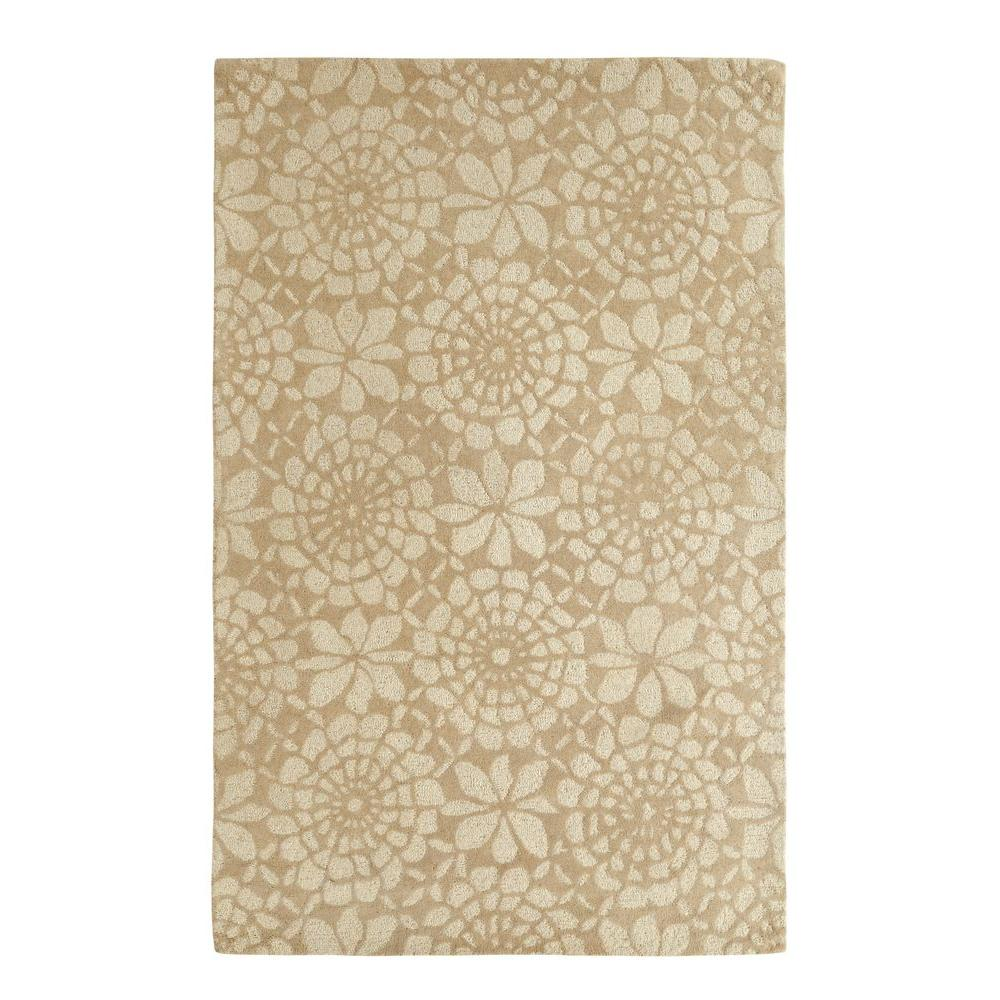 Palace Ivory/Grey 8 ft. x 11 ft. Indoor Area Rug
