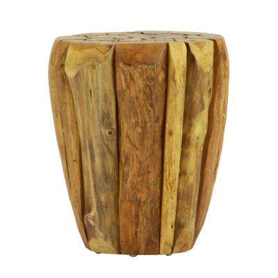 Highland Solid Natural Teak Wood Round Table