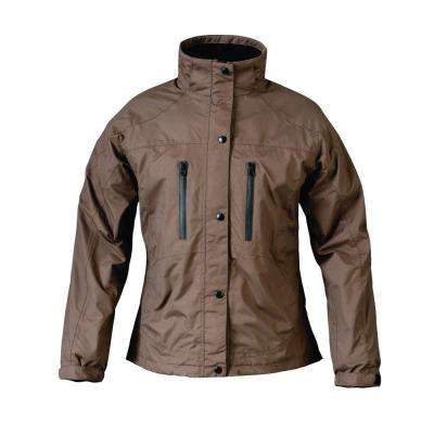 Ladies RX X-Large Brown Rain Jacket