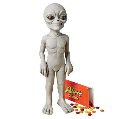 14 in. H The Out of this World Alien Extra Terrestrial Small Statue