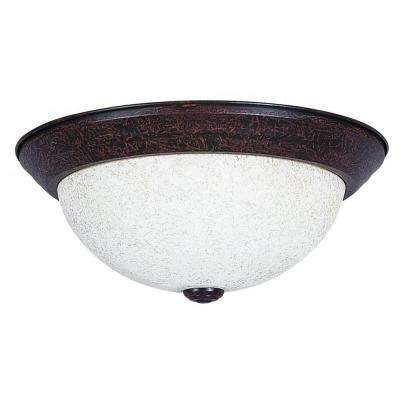 Bohanon 2-Light Oil Rubbed Bronze Flush Mount