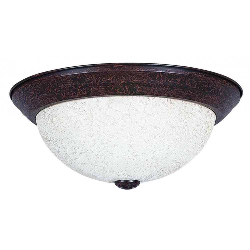 Bohanon 2-Light Oil Rubbed Bronze Flushmount