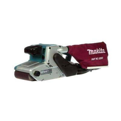 8.8 Amp 4 in. x 24 in. Corded Variable Speed Belt Sander with Dust Bag