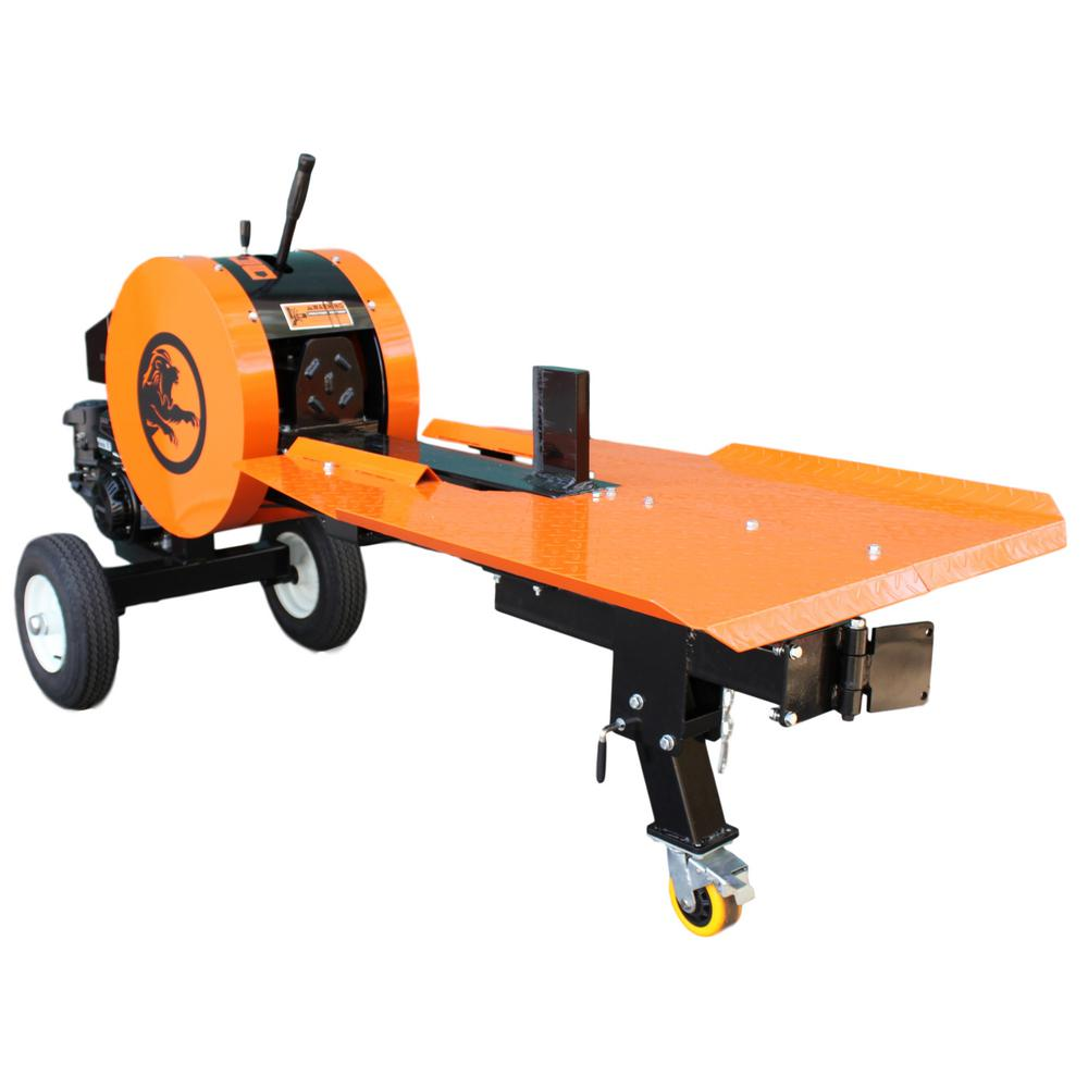 42-Ton 7 HP 208 cc Gas Horizontal Kinetic Log Splitter with