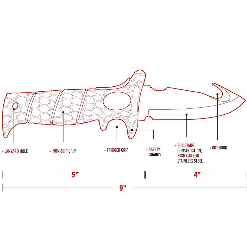 """Nouveau Bubba Blade filet de pêche 5.5/' Filet Longueur 20/"""" Net Hoop 1098489"""
