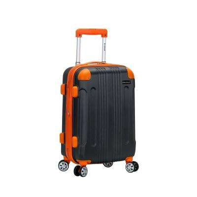 F1901 Expandable Sonic 20 in. Hardside Spinner Carry On Luggage, Charcoal