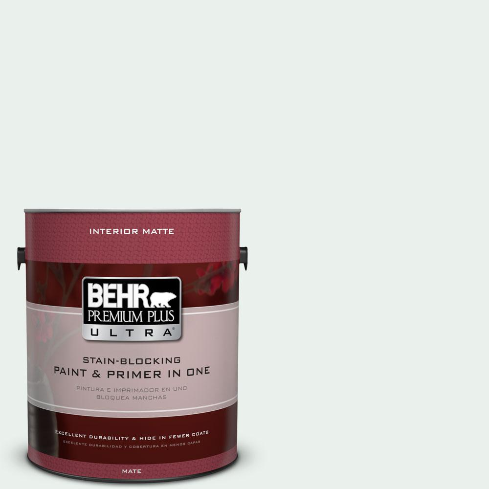 1 gal. #470E-1 Breakwater White Matte Interior Paint and Primer in