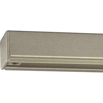 Brushed Nickel 12 ft. Track Section