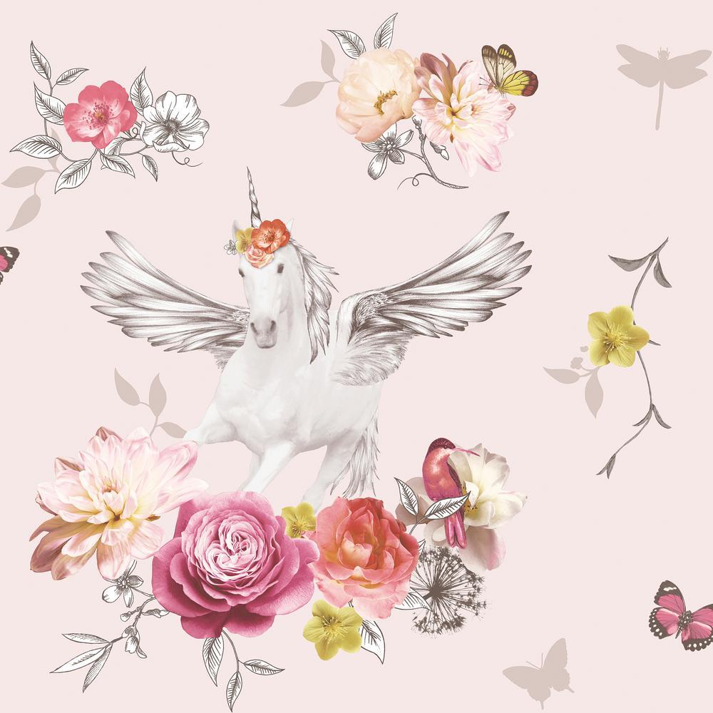 Anastasia Pink Wallpaper