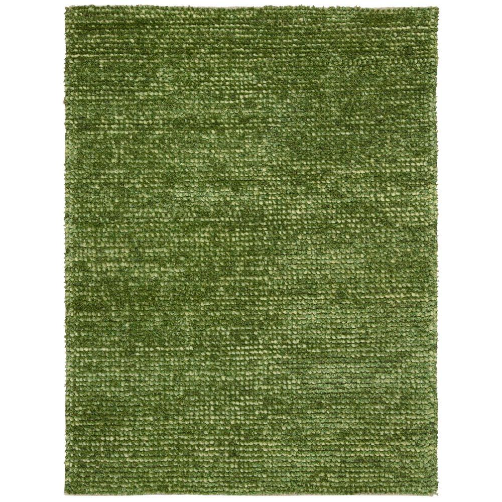 Nourison Fantasia Green 5 ft. 6 in. x 7 ft. 5 in. Area Rug