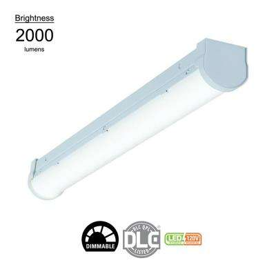 2 ft. Linear White Integrated LED Ceiling Strip Light with 2510 Lumens, 4200K, Dimmable