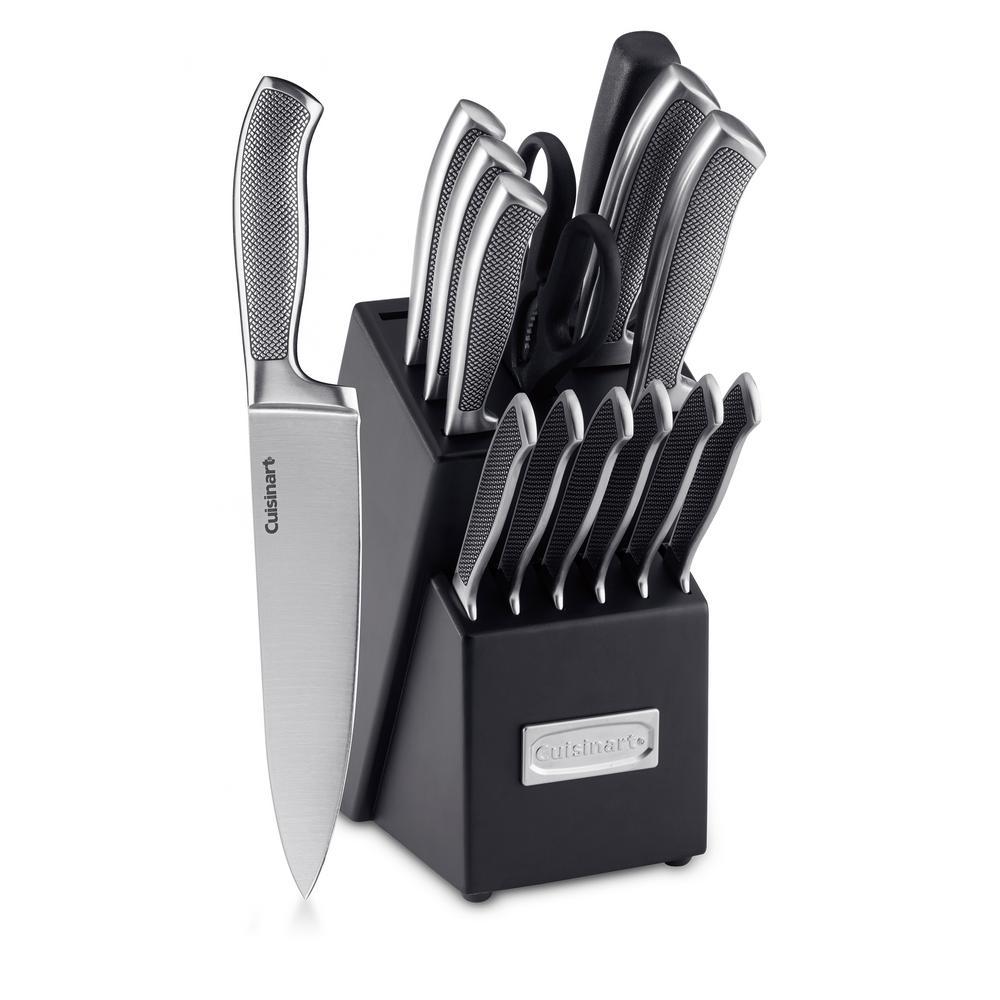 15-Piece Graphix Collection Cutlery Block Set