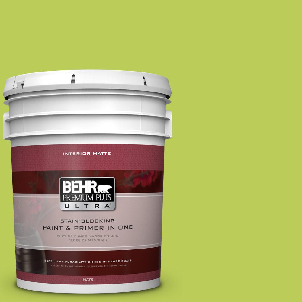 5 gal. #410B-5 Hidden Meadow Flat/Matte Interior Paint