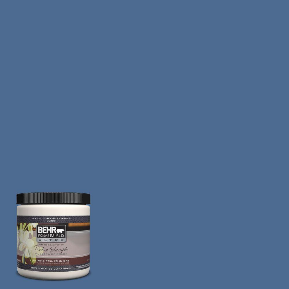8 oz. #590D-6 Wickford Bay Interior/Exterior Paint Sample