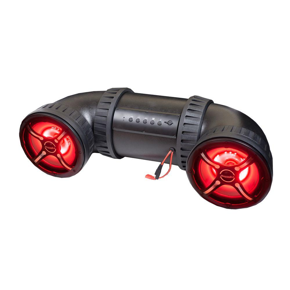 8 in. ATV-TUBE Off Road Bluetooth Speaker System with LED Illumination