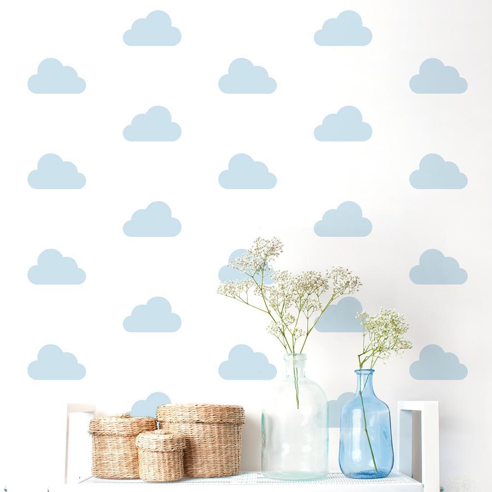 """Cloud Nine"" Kids Wall Decal (2-Sheets)"
