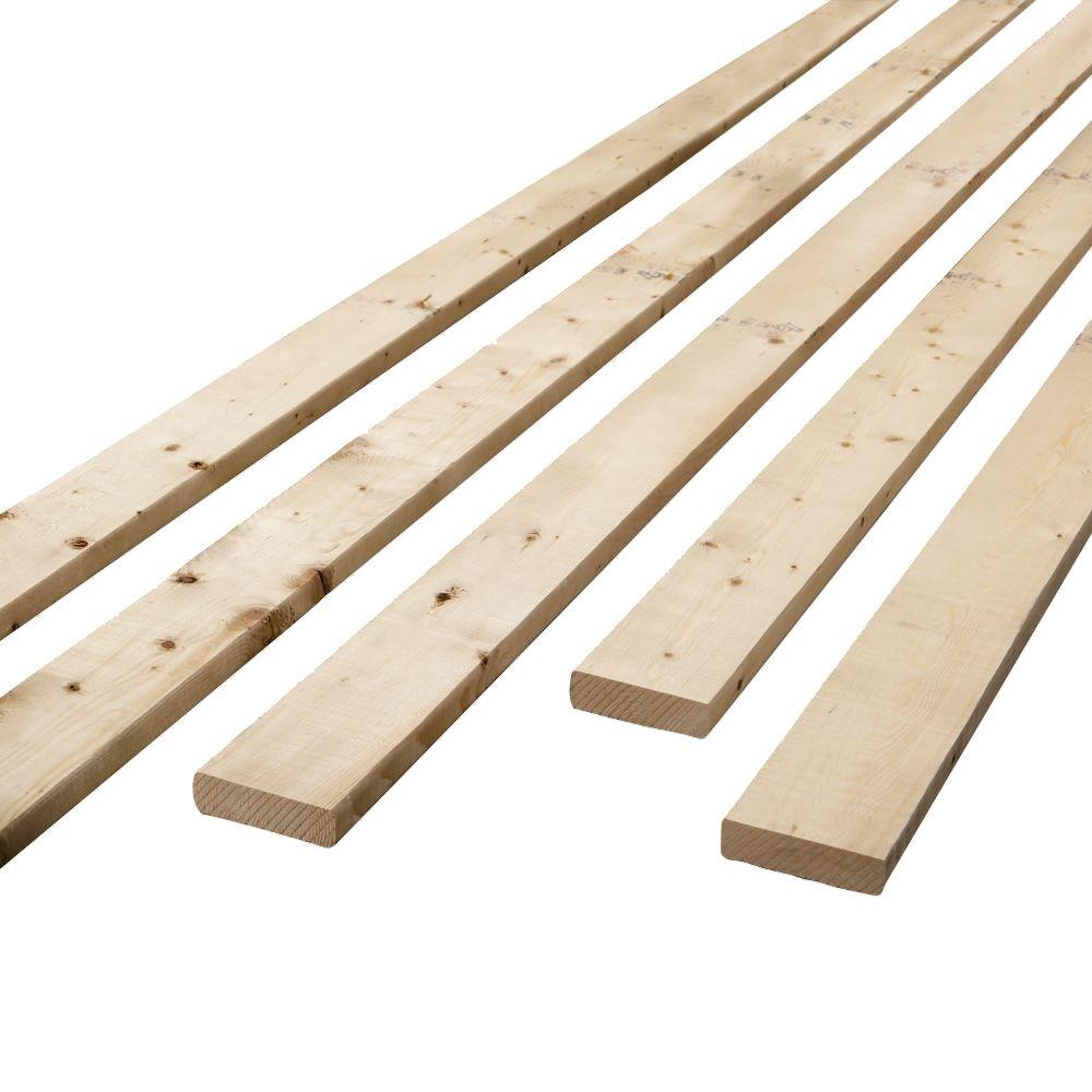 5/4 in  x 3 in  x 8 ft  Furring Strip Board-555975 - The Home Depot