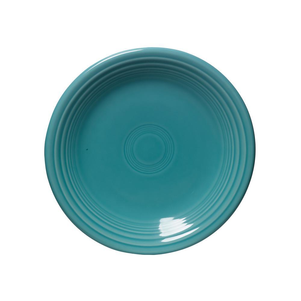 Turquoise Salad Plate