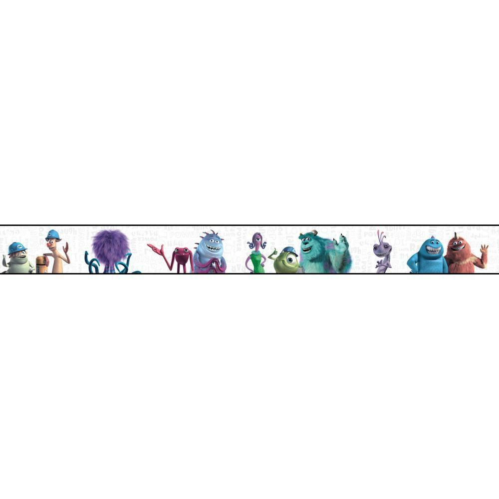 York Wallcoverings Walt Disney Kids Ii Monsters Inc
