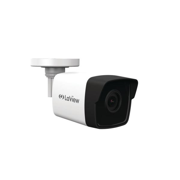 Indoor Outdoor 1080p Bullet 2MP IP Network Security Camera with 100 ft. Night Vision, 3D DNR and ONVIF Compliant