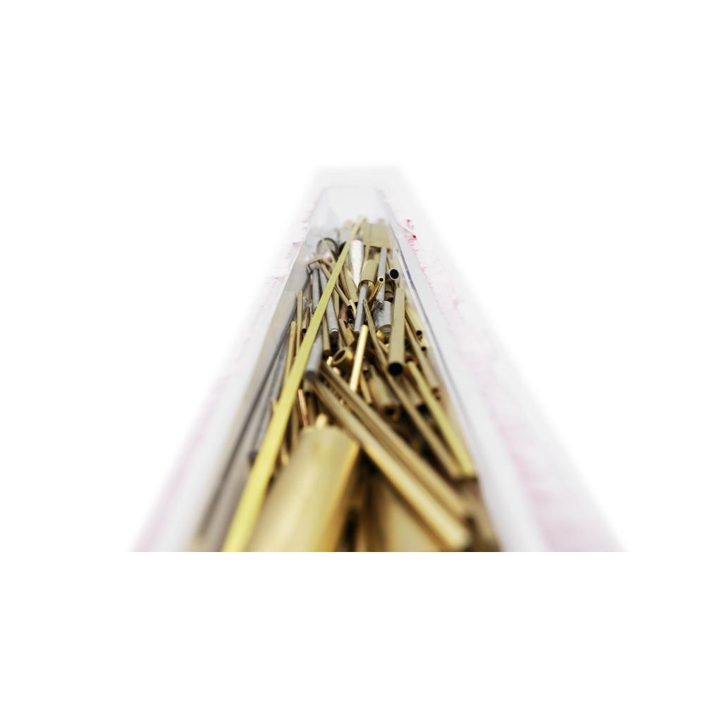 L Brass  Metal Strip K/&S  0.032 in W x 12 in x 1//2 in