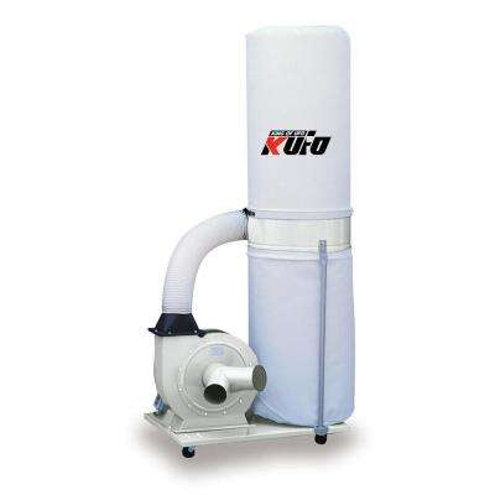 2 HP 1550 CFM 1-Phase 110-Volt Vertical Bag Dust Collector