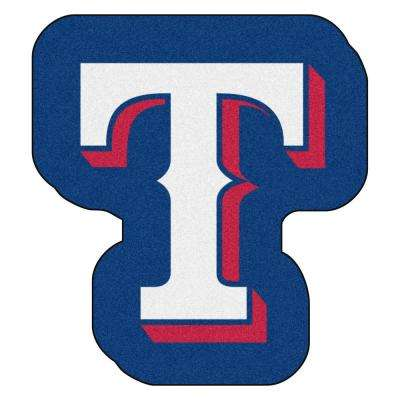 MLB - Texas Rangers 30 in. x 33 in. Indoor Area Rug Mascot Mat