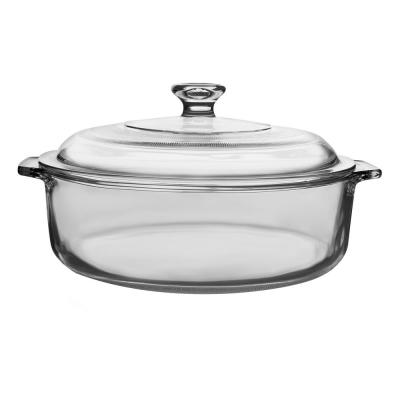 Baker's Basics 1-Piece Glass Casserole with Cover