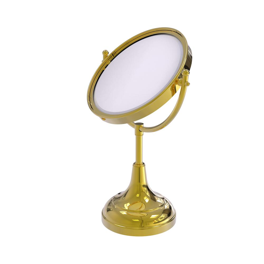 8 in. x 15 in. Vanity Top Make-Up Mirror 2x Magnification