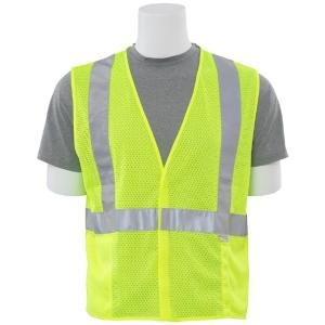 Click here to buy ERB S15 4XL HVL Poly Mesh Safety Vest by ERB.